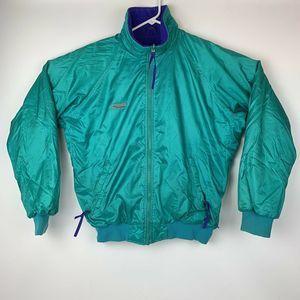 Vintage 90s Columbia Radial Sleeve Ski Snow Jacket